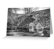 Water Under the Bridge by Smart Imaging Greeting Card