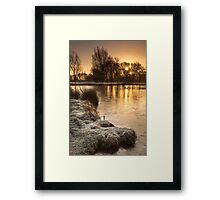 A Winter's Morn by Smart Imaging Framed Print