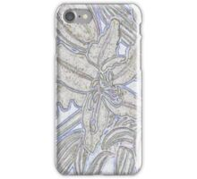 Pale Lillies iPhone Case/Skin