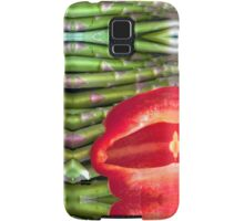 Abstract Pepper Samsung Galaxy Case/Skin