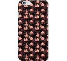 Black and Pink Turtle Pattern iPhone Case/Skin
