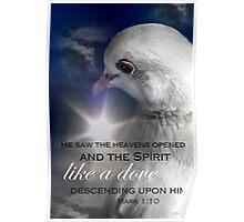 Mark 1:10 Poster