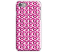 Penguin Hearts Pattern iPhone Case/Skin