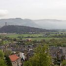 Wallace memorial as seen from Stirling Castle by ashishagarwal74