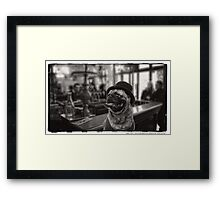 Last Call Framed Print