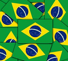 Smartphone Case - Flag of Brazil - Multiple by Mark Podger