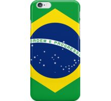 Smartphone Case - Flag of Brazil - vertical iPhone Case/Skin