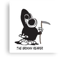 The Grimmy Reaper Canvas Print