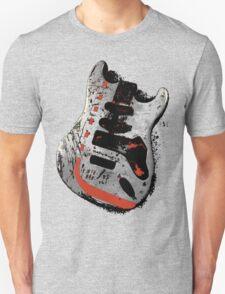 Guitar Grunge Rock (design #1) T-Shirt