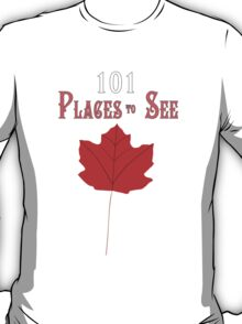101 Places To See T-Shirt