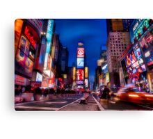The Soft Glow of 7th Ave Canvas Print
