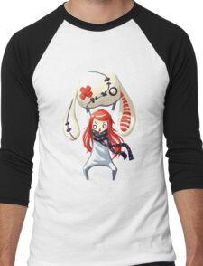 Bunny Plush Men's Baseball ¾ T-Shirt