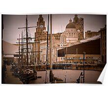Liverpool Masts Poster