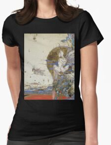 Fantasy in a dream. Womens Fitted T-Shirt
