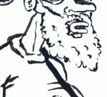 Ugly Santa 1 Sticker