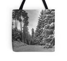 Winter in Forsheda's track II Tote Bag