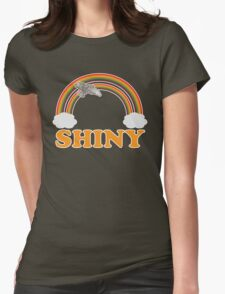 Firefly - Serenity | Double rainbow Womens Fitted T-Shirt