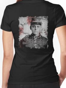 After Dark Investigations - Paranormal Civil War Tee Women's Fitted V-Neck T-Shirt
