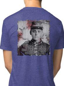 After Dark Investigations - Paranormal Civil War Tee Tri-blend T-Shirt