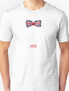 Doctor who, Bow ties are cool T-Shirt