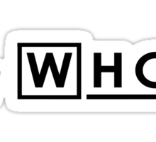 Doctor Who ?? Sticker