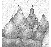 Pear Minimum  Photographic Print