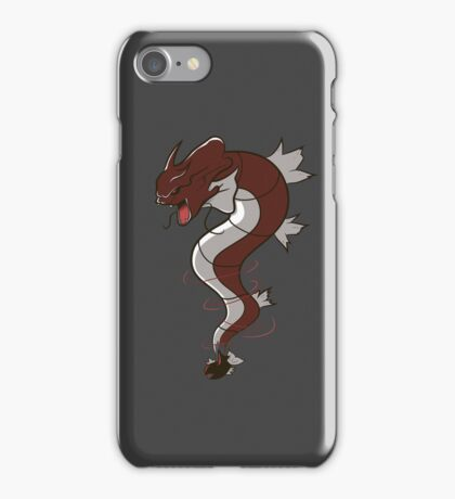 King of the Seas (red) iPhone Case/Skin