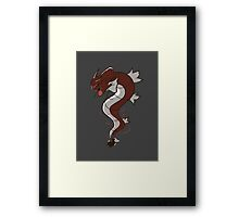 King of the Seas (red) Framed Print