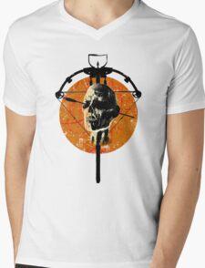 Dead Walking Mens V-Neck T-Shirt
