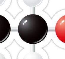 Ethanol (alcohol) molecule Sticker