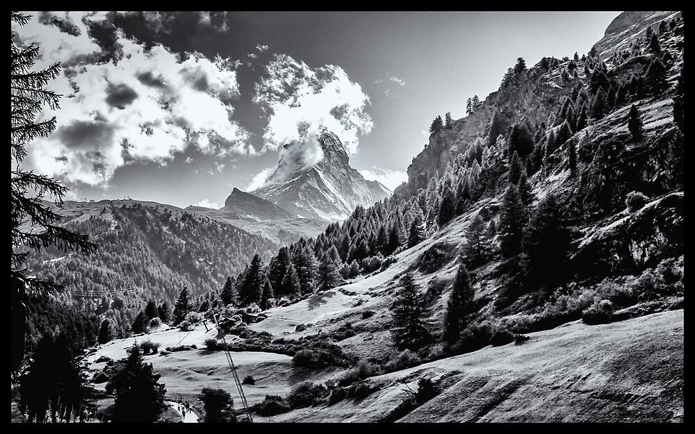 zermatt (003), (matterhorn) by dirk hinz