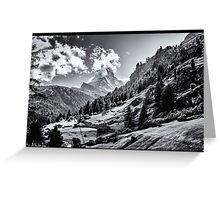 zermatt (003), (matterhorn) Greeting Card
