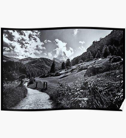 zermatt (005), (matterhorn)  Poster