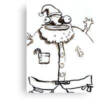 Ugly Santa 2 Canvas Print