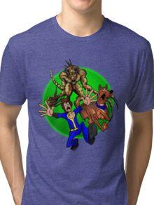 Dogmeat Doo! Tri-blend T-Shirt