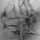 Life Drawing Study 10. by nawroski .