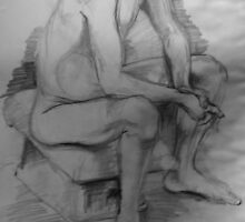 Life Drawing Study 10. by nawroski .