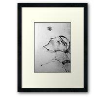 Life Drawing Study 11. Framed Print