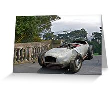 1930X WTH IZIT Race Car II Greeting Card