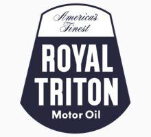 Vintage Royal Triton Motor Oil by JohnOdz