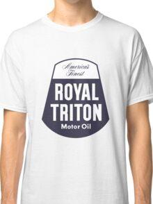 Vintage Royal Triton Motor Oil Classic T-Shirt