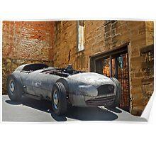 193X WTH IZIT Race Car I Poster