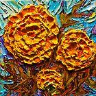 Yellow Marigolds by OriginalbyParis