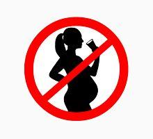 Pregnant Woman Alcohol Symbol Unisex T-Shirt