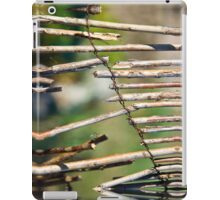 Willow Fence iPad Case/Skin