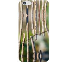 Willow Fence iPhone Case/Skin