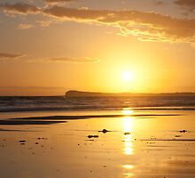 Sunset over Barwon Heads by Linda Lees