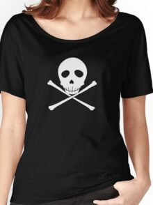 Persona 4 Kanji Tatsumi skull shirt Women's Relaxed Fit T-Shirt