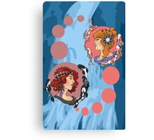 THE REDHEADS #1 Canvas Print