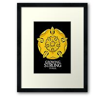 Game of Thrones - Tyrell house Framed Print